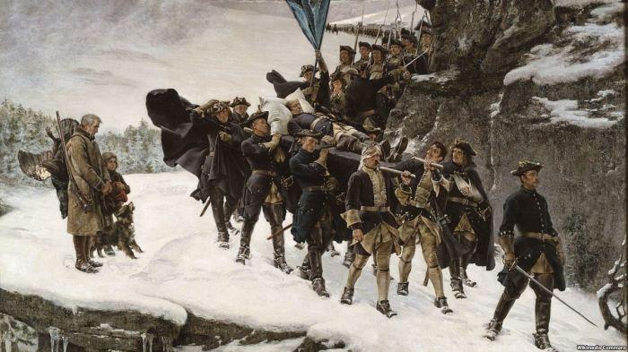 Отступление армии Карла XII. | Фото: Радио Свобода.
